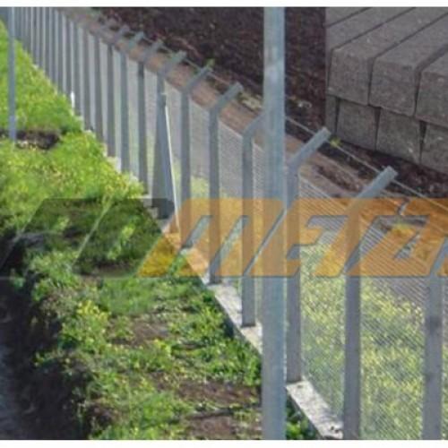Beton Direkli Tel Çit sistemleri