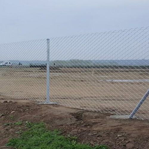 Galvaniz direkli tel çit