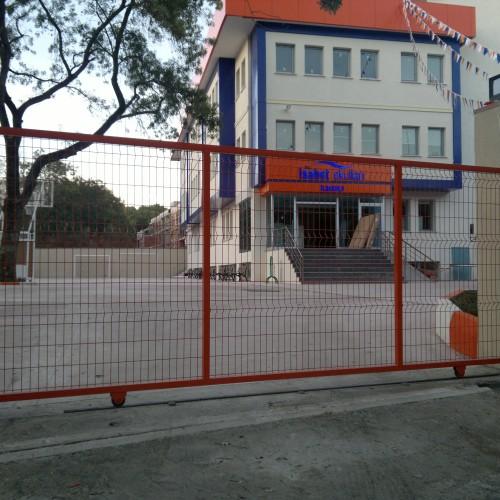 kayar okul giriş kapısı