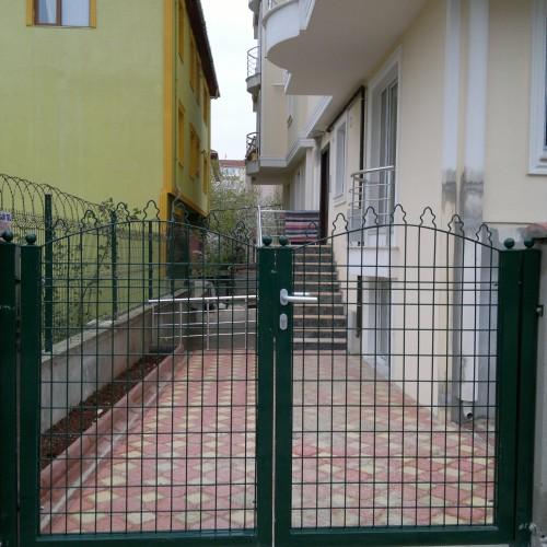 sedafor panel çit apartman giriş kapısı