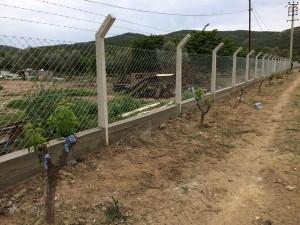 beton direkli tel çit