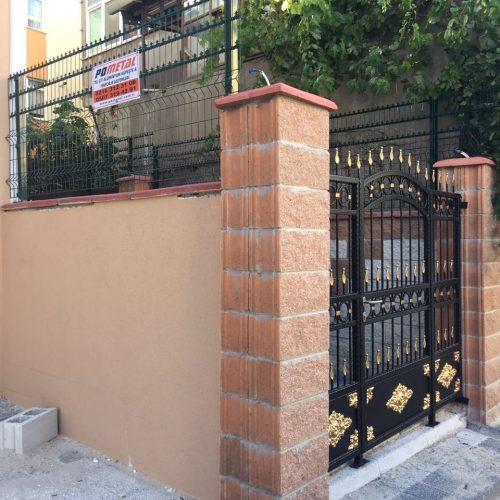ferforje kapısı
