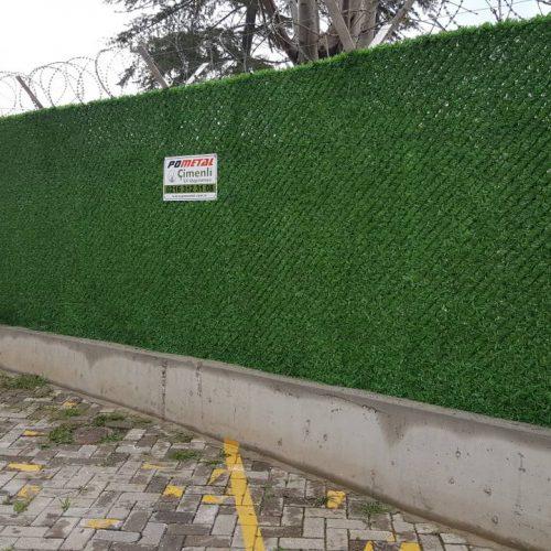 Ataşehir Garanti Sitesi Çimenli Çit Uygulaması