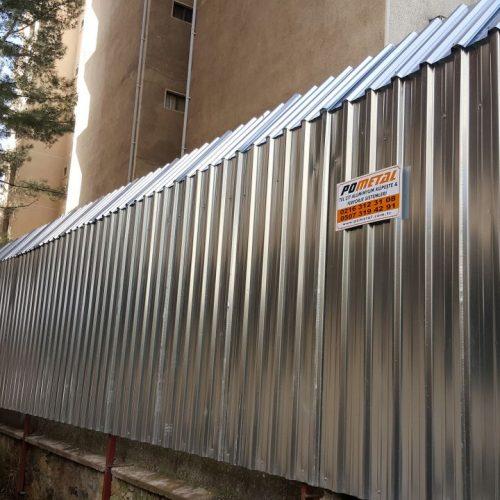 Kadıköy Fazilet Apartmanı Trapez Sac Uygulaması