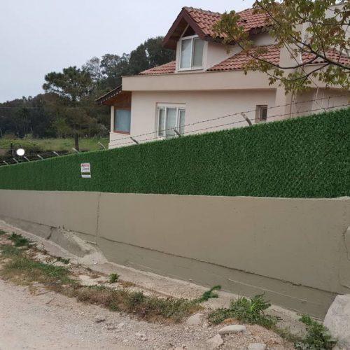 Sinop Gerze Çağla Yapı Çimenli Çim Çit Uygulaması
