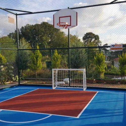 ÖZMERTLER İnşaat Mini Basketbol Sahası
