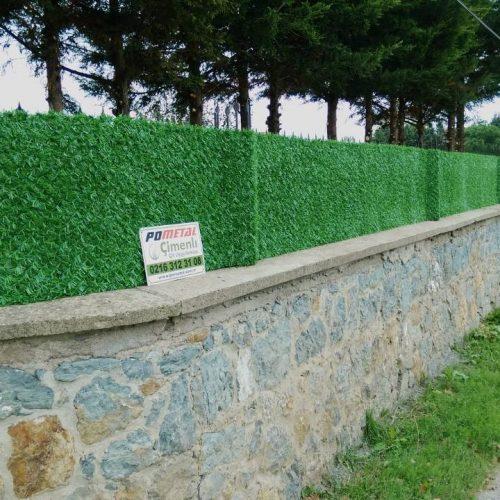 Pendik Ballıca'da Çimenli Çim Çit Uygulması