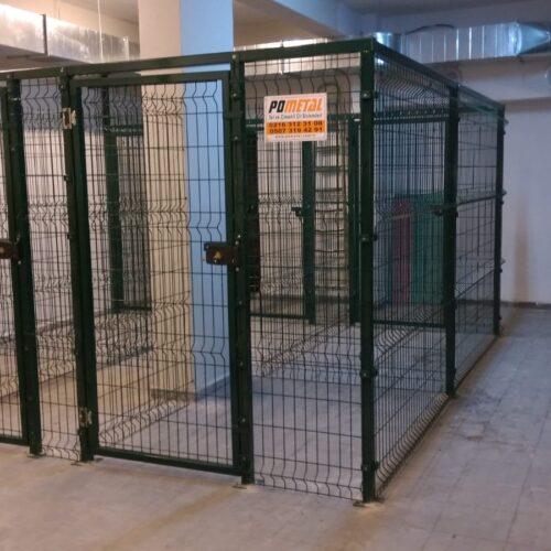 Kadıköy Bozkır Apartmanı 20 Adet Sığınak Depo Bölme