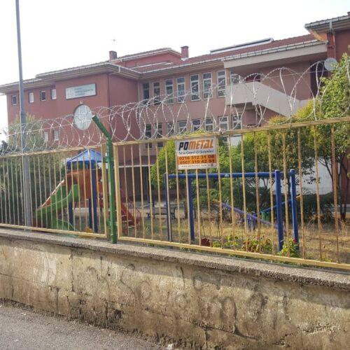 Kartal Soğanlık İlkokulu Helezon Jiletli Tel