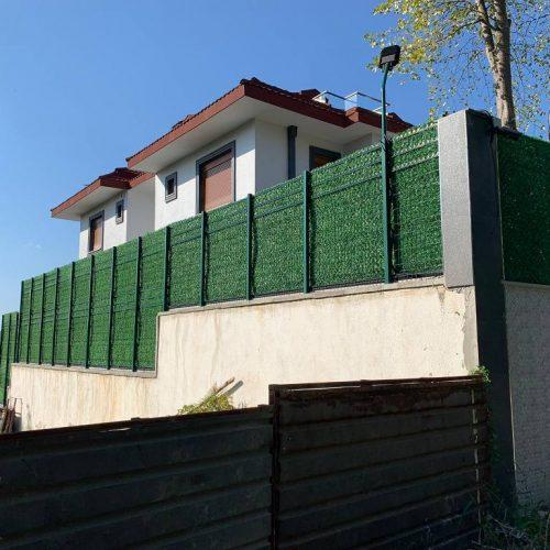 Çekmeköy Reşadiye çimenli çit uygulaması