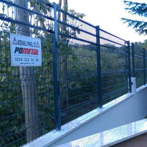 Şile Karabeyli pirana panel çit uygulaması