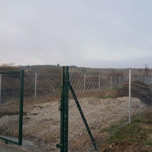 Şile Ağva Kurfallı Köyü Boru Direkli Tel Çit Montajı