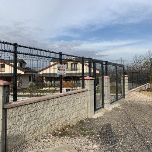 Kartape Villa Pirana Panel Çit Uygulaması