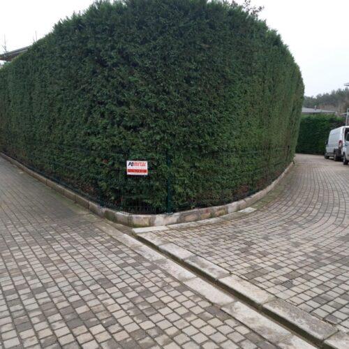 Dekoratif Panel Çit Uygulaması Çekmeköy Mayavera Sitesi